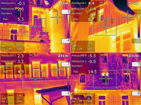 wärmebildkamera messung